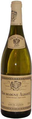 Bourgogne Aligoté Louis Jadot ayant comme année de récolte 2009