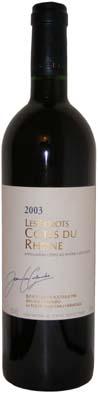 Côtes du Rhône Jean-Luc Colombo millésime 2006