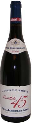 Côtes du Rhône Jaboulet millésime 2009