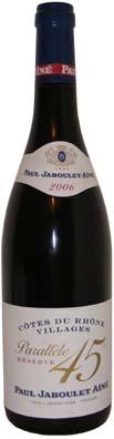 Côtes du Rhône Villages Jaboulet ayant comme millésime 2006