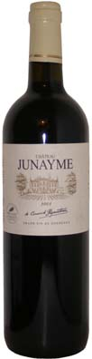 Fronsac Chateau Junayme millésime 2006