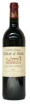 Bordeaux Côtes de Castillon Chateau de Belcier ayant comme millésime 2004