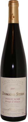 Alsace Pinot Noir Domaine Fabien Stirn millésime 2009