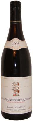Bourgogne Passe-tout-grain Benoit Cantin année 2007