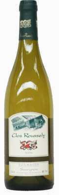 Sauvignon de Touraine Domaine du Clos Roussely avec comme millésime 2010